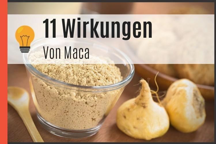 11 Wirkungen von Maca