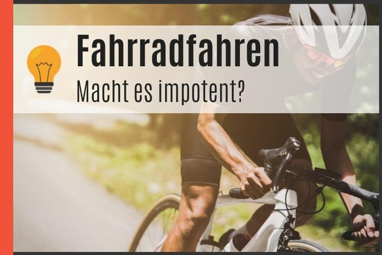 Fahrradfahren und Impotenz