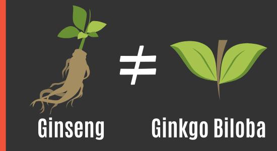 Ginkgo Biloba und Ginseng