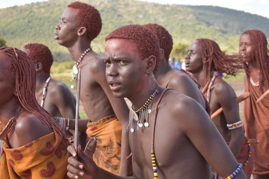 Massai Ritual mit Yohimbe
