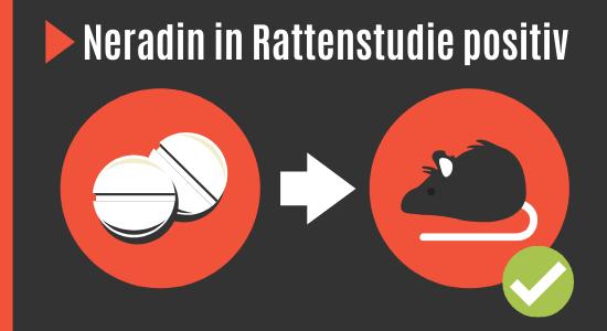 Neradin Wirkung bei Ratten