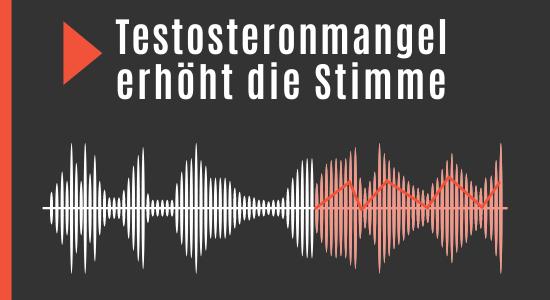 Testosteronspiegel beeinflusst Stimme