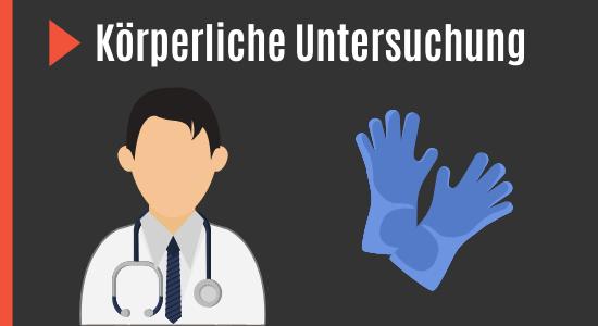 Untersuchung bei Erektionsstörungen beim Arzt