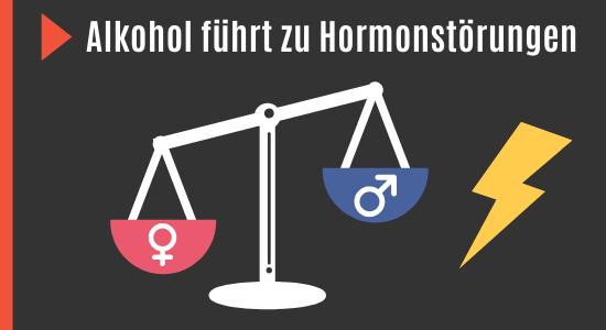 Alkohol verringert Testosteron