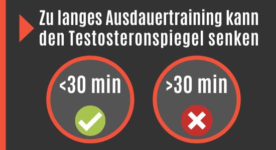 Ausdauertraining vs. Testosteronspiegel