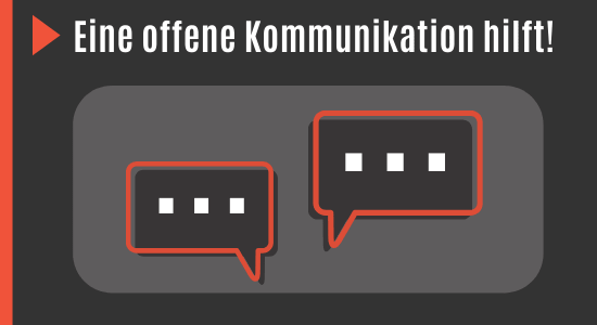 Kommunikation mit dem Partner