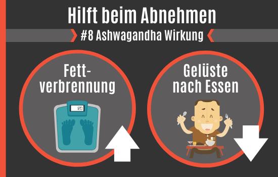 Ashwagandha Wirkung - Hilft beim Abnehmen