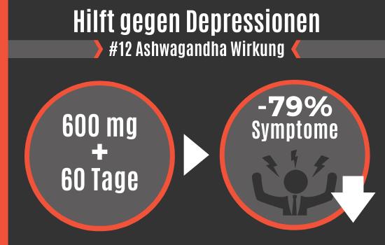 Ashwagandha Wirkung - Hilft gegen Depressionen