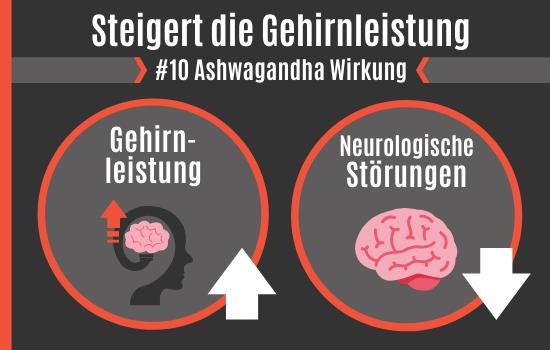 Ashwagandha Wirkung - Steigert die Gehirnleistung