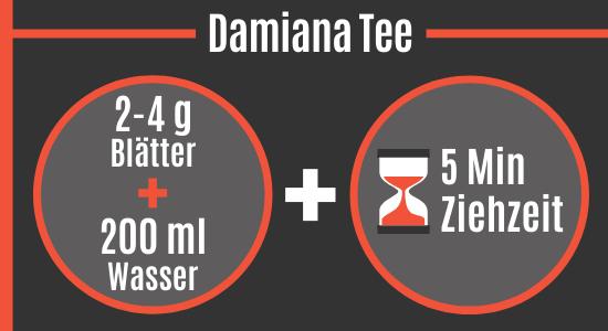 Damiana Tee Rezept