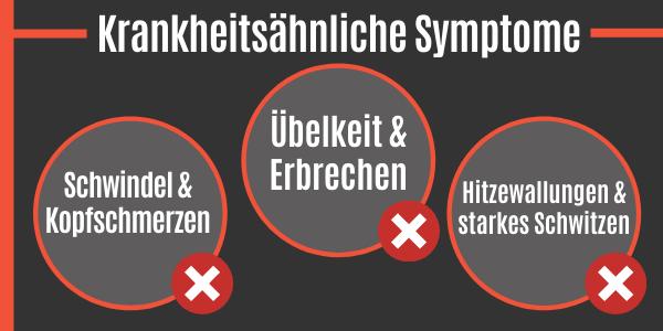 Krankheitsähnliche Symptome