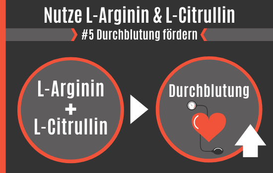 Citrullin arginin potenz