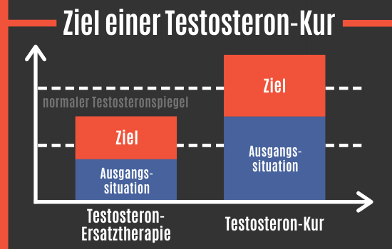 Ziel einer Testosteron-Kur