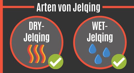Arten von Jelqing