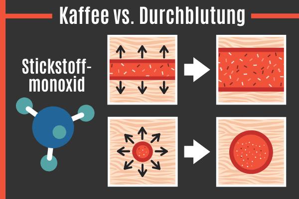 Kaffee vs. Durchblutung
