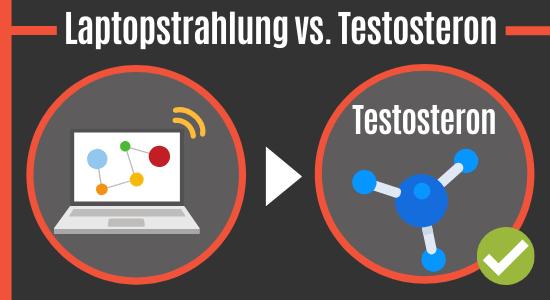 Laptopstrahlung vs. Testosteron