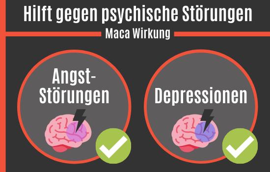 Maca hilft gegen Angststörungen und Depressionen