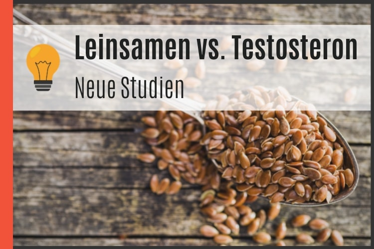 Leinsamen vs. Testosteron
