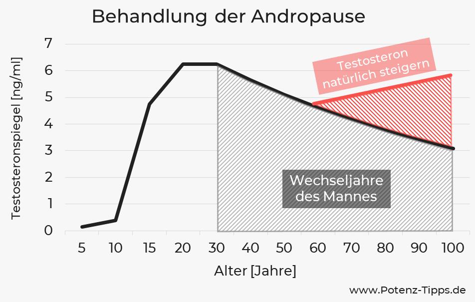 Behandlung der Andropause