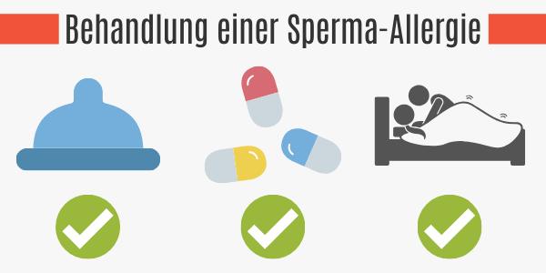 Behandlung einer Sperma-Allergie