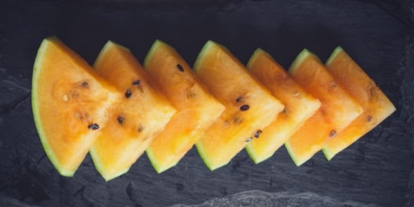 Orange Wassermelone
