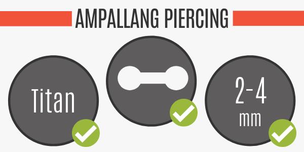 Ampallang Piercing