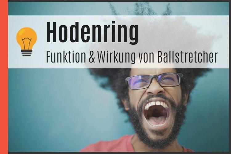 Hodenring - Funktion & Wirkung von Ballstretcher