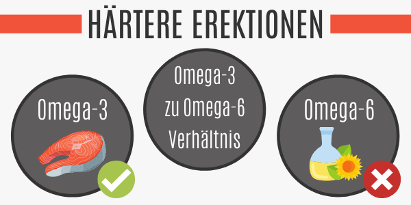 Omega-3-Fette fördern die Erektionsfähigkeit