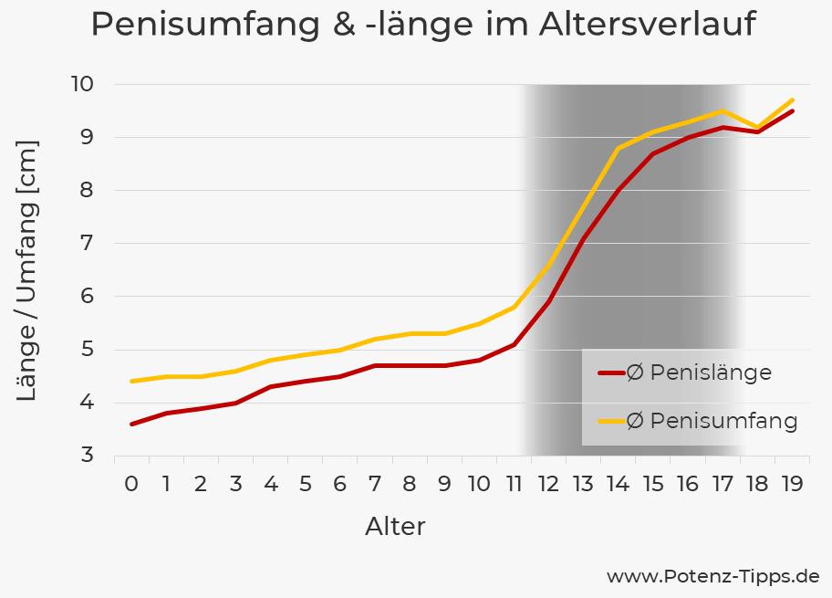 Durchschnittliche penislänge deutschland