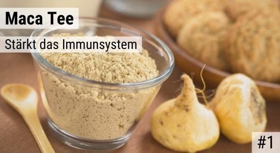 Maca Tee stärkt das Immunsystem