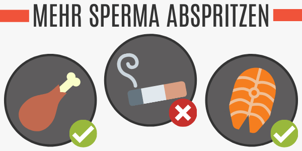 Mehr Sperma abspritzen durch Protein