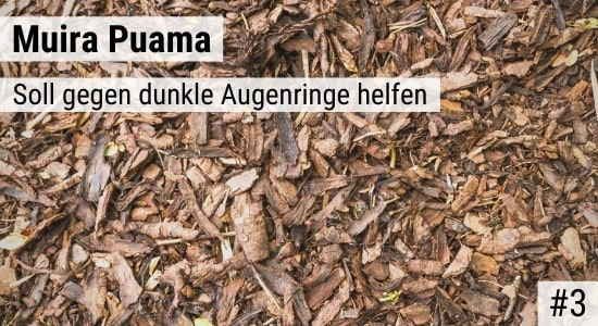Muira Puama soll gegen dunkle Augenringe helfen