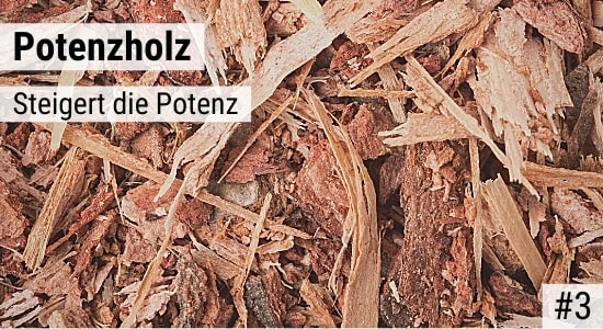 Potenzholz steigert die Potenz