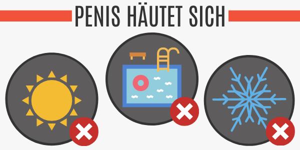 Ursachen für Häutung des Penis