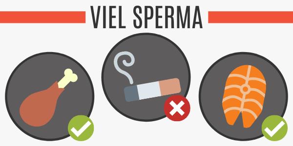 Viel Sperma durch Protein